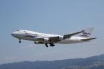 ガス屋のヨッシーさんが、関西国際空港で撮影したシルクウェイ・ウェスト・エアラインズ 747-4H6F/SCDの航空フォト(飛行機 写真・画像)