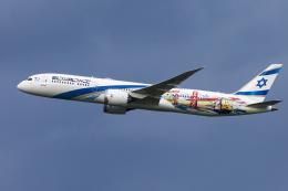 mameshibaさんが、成田国際空港で撮影したエル・アル航空 787-9の航空フォト(飛行機 写真・画像)
