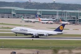 airdrugさんが、仁川国際空港で撮影したルフトハンザドイツ航空 747-430の航空フォト(飛行機 写真・画像)