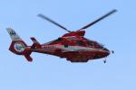 airdrugさんが、幕張の浜で撮影した千葉市消防航空隊 AS365N3 Dauphin 2の航空フォト(写真)