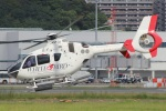 MOR1(新アカウント)さんが、福岡空港で撮影した日本法人所有 EC135T2+の航空フォト(写真)