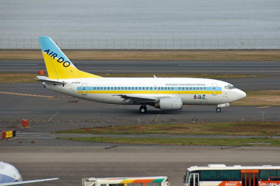 GambardierさんのAIR DO Boeing 737-500 (JA300K) 航空フォト