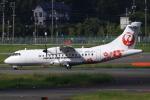 ひよっこさんが、福岡空港で撮影した日本エアコミューター ATR-42-600の航空フォト(写真)