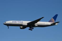 JMBResonaさんが、ワシントン・ダレス国際空港で撮影したユナイテッド航空 777-222/ERの航空フォト(飛行機 写真・画像)