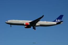 JMBResonaさんが、ワシントン・ダレス国際空港で撮影したスカンジナビア航空 A330-343Xの航空フォト(飛行機 写真・画像)
