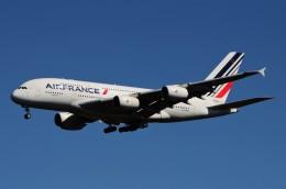 JMBResonaさんが、ワシントン・ダレス国際空港で撮影したエールフランス航空 A380-861の航空フォト(飛行機 写真・画像)