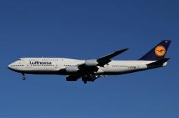 JMBResonaさんが、ワシントン・ダレス国際空港で撮影したルフトハンザドイツ航空 747-830の航空フォト(飛行機 写真・画像)