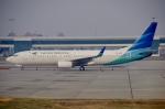 JA8943さんが、スカルノハッタ国際空港で撮影したガルーダ・インドネシア航空 737-8ASの航空フォト(写真)