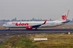 JA8943さんが、スカルノハッタ国際空港で撮影したタイ・ライオン・エア 737-9GP/ERの航空フォト(写真)