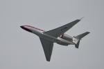 飛行機ゆうちゃんさんが、羽田空港で撮影したプライベートエア G650 (G-VI)の航空フォト(飛行機 写真・画像)