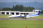 flyflygoさんが、鹿児島空港で撮影したANAウイングス DHC-8-402Q Dash 8の航空フォト(写真)