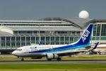 アングリー J バードさんが、福岡空港で撮影した全日空 737-781の航空フォト(写真)