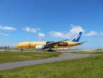 チェリーさんが、福岡空港で撮影した全日空 777-281/ERの航空フォト(写真)