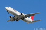 遠森一郎さんが、福岡空港で撮影した日本トランスオーシャン航空 737-446の航空フォト(写真)