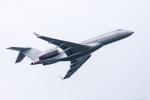 Y-Kenzoさんが、成田国際空港で撮影したビスタジェット BD-700-1A10 Global 6000の航空フォト(写真)