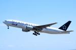 ひよっこさんが、山口宇部空港で撮影した全日空 777-281の航空フォト(写真)
