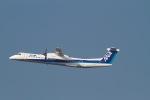 344さんが、福岡空港で撮影したANAウイングス DHC-8-402Q Dash 8の航空フォト(写真)