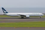 きんめいさんが、中部国際空港で撮影したキャセイパシフィック航空 777-367の航空フォト(写真)