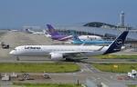 kix-booby2さんが、関西国際空港で撮影したルフトハンザドイツ航空 A350-941XWBの航空フォト(写真)