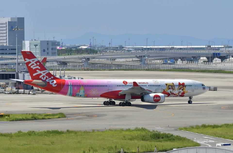 kix-booby2さんのタイ・エアアジア・エックス Airbus A330-300 (HS-XTD) 航空フォト