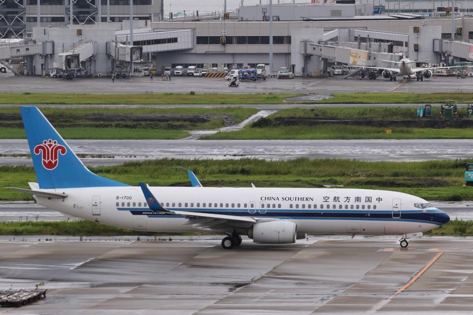 camelliaさんの中国南方航空 Boeing 737-800 (B-1700) 航空フォト