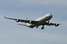 kuro2059さんが、クアラルンプール国際空港で撮影したマーハーン航空 A340-313Xの航空フォト(飛行機 写真・画像)