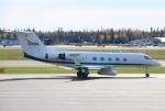 なごやんさんが、フェアバンクス国際空港で撮影したアメリカ航空宇宙局 G-1159A Gulfstream IIIの航空フォト(写真)