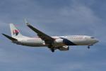 kuro2059さんが、クアラルンプール国際空港で撮影したマレーシア航空 737-8H6の航空フォト(写真)