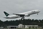 k-spotterさんが、成田国際空港で撮影したパキスタン国際航空 777-2Q8/ERの航空フォト(写真)