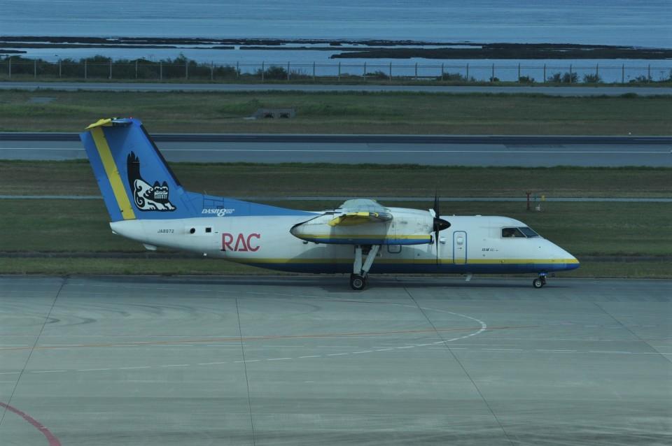 kumagorouさんの琉球エアーコミューター Bombardier DHC-8-100 (JA8972) 航空フォト