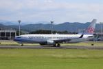 flyflygoさんが、熊本空港で撮影したチャイナエアライン 737-8ALの航空フォト(写真)
