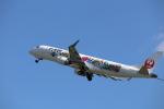 flyflygoさんが、熊本空港で撮影したジェイ・エア ERJ-190-100(ERJ-190STD)の航空フォト(写真)