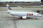 tassさんが、ロンドン・ヒースロー空港で撮影したチェコ航空 737-55Sの航空フォト(飛行機 写真・画像)