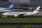 ぐっちーさんが、羽田空港で撮影した日本航空 777-246/ERの航空フォト(写真)