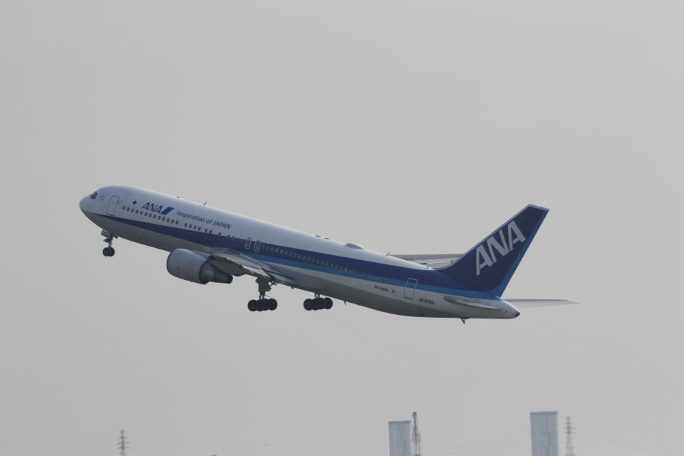 raiden0822さんの全日空 Boeing 767-300 (JA616A) 航空フォト
