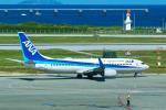 delawakaさんが、那覇空港で撮影した全日空 737-881の航空フォト(写真)
