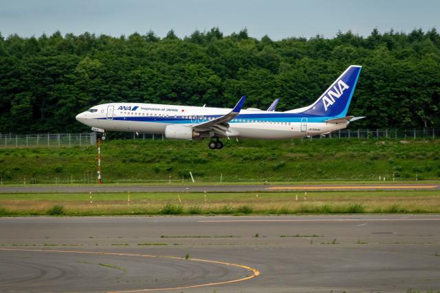 K.Sさんが、新千歳空港で撮影した全日空 737-881の航空フォト(飛行機 写真・画像)