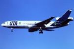 tassさんが、成田国際空港で撮影したUTA DC-10-30の航空フォト(写真)