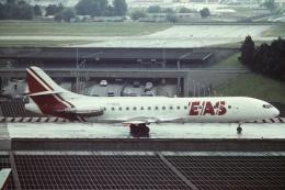 tassさんが、パリ オルリー空港で撮影したEAS ヨーロッパ エアラインズ SE-210 Caravelle 10B3 Super Bの航空フォト(飛行機 写真・画像)