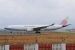 YASKYさんが、台北松山空港で撮影したチャイナエアライン A330-302の航空フォト(写真)