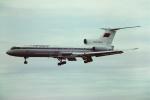 tassさんが、新潟空港で撮影したアエロフロート・ロシア航空 Tu-154Bの航空フォト(写真)