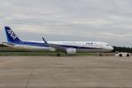西風さんが、大館能代空港で撮影した全日空 A321-272Nの航空フォト(写真)