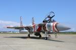 牡丹さんが、小松基地で撮影した航空自衛隊 F-15DJ Eagleの航空フォト(写真)