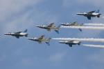 牡丹さんが、小松基地で撮影した航空自衛隊 T-4の航空フォト(写真)