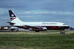 tassさんが、ロンドン・ガトウィック空港で撮影したブリティッシュ・エアウェイズ 737-236/Advの航空フォト(飛行機 写真・画像)