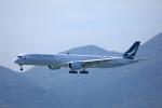 garrettさんが、香港国際空港で撮影したキャセイパシフィック航空 A350-1041の航空フォト(写真)