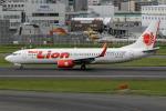 mototripさんが、福岡空港で撮影したタイ・ライオン・エア 737-8GPの航空フォト(写真)
