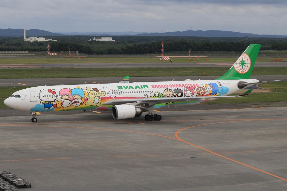 キイロイトリさんのエバー航空 Airbus A330-300 (B-16332) 航空フォト