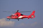 ☆ライダーさんが、名古屋飛行場で撮影した名古屋市消防航空隊 AS365N3 Dauphin 2の航空フォト(写真)