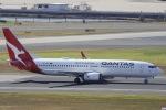 kikiさんが、シドニー国際空港で撮影したカンタス航空 737-838の航空フォト(写真)